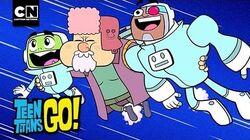 Man on the Moon Teen Titans Go! Cartoon Network