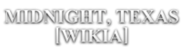 Midnight, Texas Wordmark