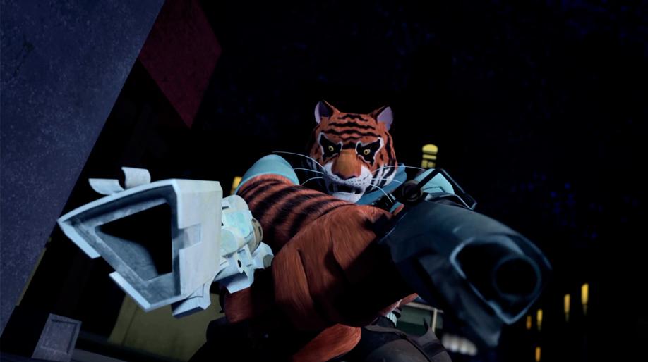 teenage mutant ninja turtles 2012 tiger claw