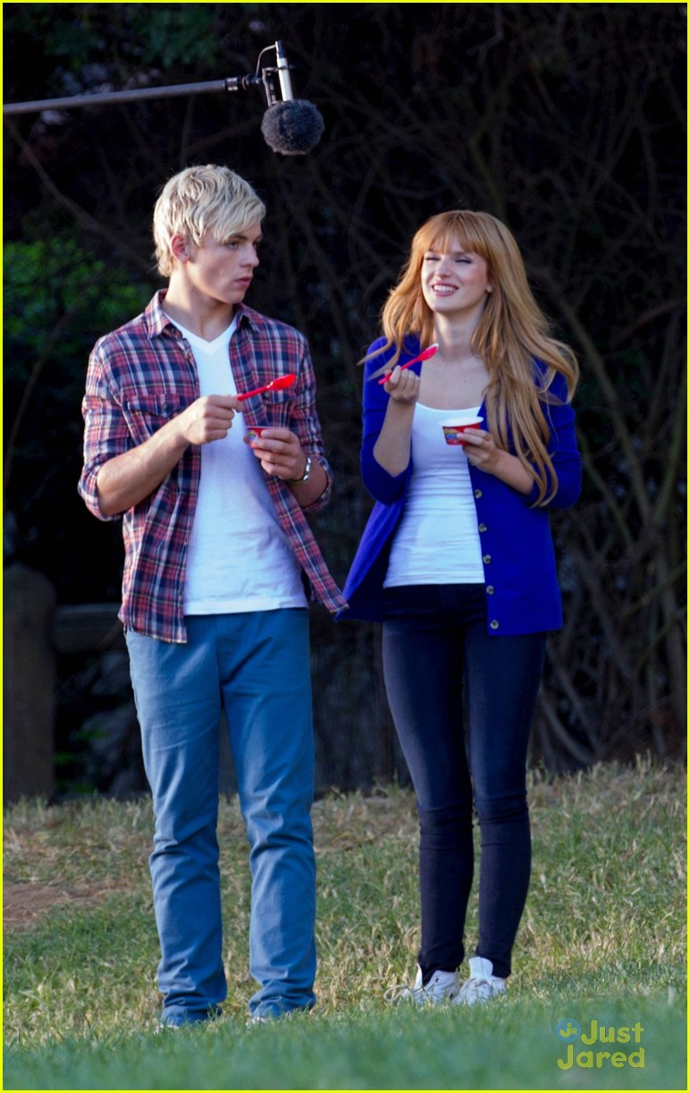 image ross lynch and bella thorn danimals 1jpg teen