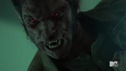 Teen Wolf Season 4 Episode 10 Monstrous Scott face ripple.png