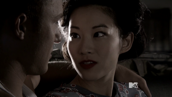 Teen Wolf Season 3 Episode 21 Fox and Wolf Rhys and Noshiko learn french