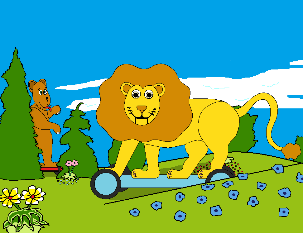 Image - The lion and bear.png : Teletubbies Wiki : Fandom powered by ...
