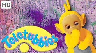 Teletubbies- Spray Paint Mural - HD Video