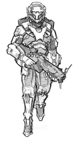 Norn-type Combat Armor