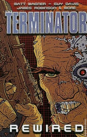 The terminator the rewright comic book
