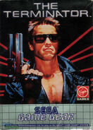 The Terminator Game Gear front