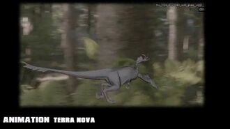 Animation of a Velociraptor for Terra Nova