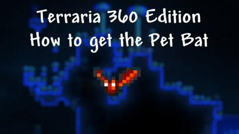Terraria Xbox - How to find the Pet Bat (Vial of Blood)-0