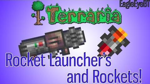 Terraria Rocket Launcher and Ammo! Explosive Weapon! Help and Howto!-2