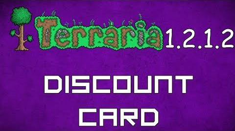 Discount Card - Terraria 1.2.1