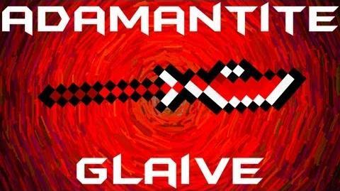 Adamantite Glaive