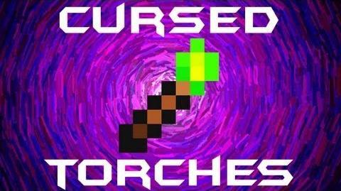 Cursed Torch Terraria HERO