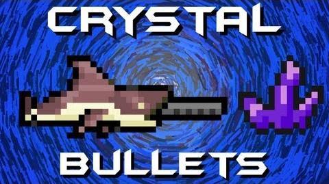 Crystal Bullet Megashark Terraria HERO
