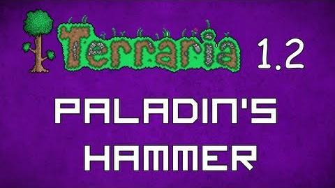 Paladin's Hammer - Terraria 1