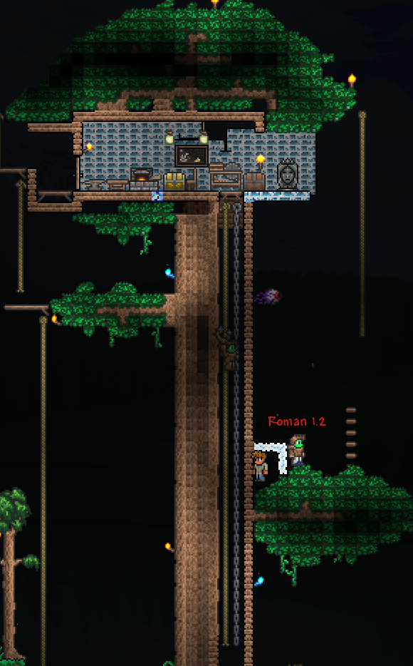 Living Wood Terraria Wiki Fandom Powered By Wikia