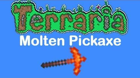 Molten Pickaxe