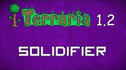 how to make a solidifier in terraria