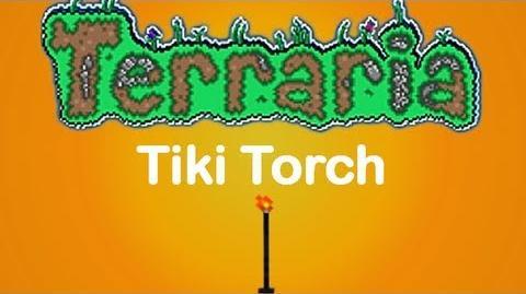 Terraria Tiki Torch