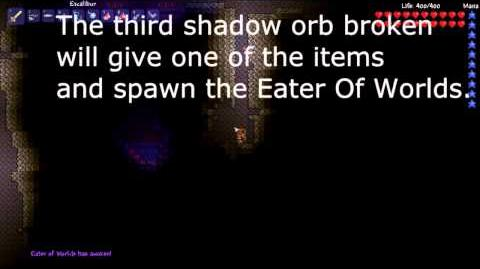 Terraria Shadow Orb Guide