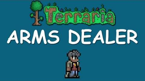 Terraria - How to get the Arms Dealer