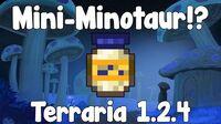 Mini-Minotaur - Terraria 1.2