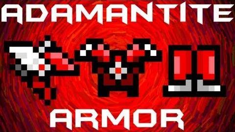 Video Terraria Adamantite Armor Terraria Wiki