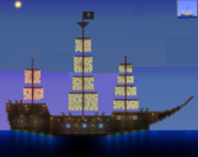 Terraria Pirate Ship