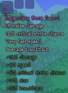 Legendary Bone Sword