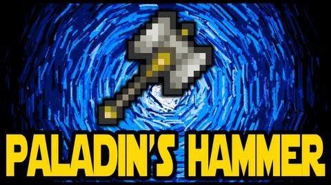 Paladin's Hammer, Terraria 1 2 Paladin Miniboss, How to get the Paladin's Hammer