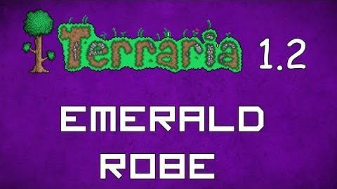 Emerald Robe - Terraria 1.2 Guide New Magic Robe!