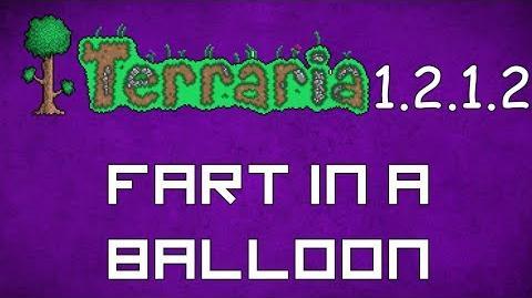 Fart in a Balloon - Terraria 1.2.1