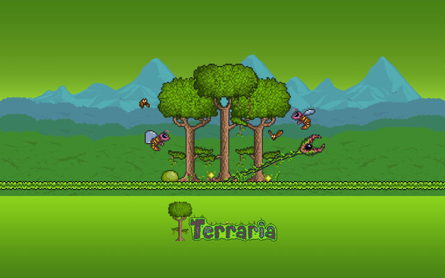 File:Tiamou Terraria Fan Art Jungle Biome Wallpaper.jpg