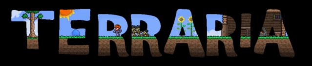 File:Terraria fan made logo.png