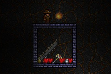 Terraria What The Wall Of Flesh Drops