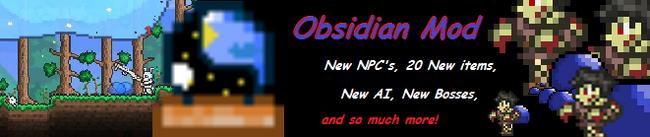 Obsidian Banner large
