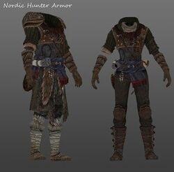 Nordic Hunter Light Armor