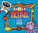 PlayTV Legends Family Tetris Title Screen