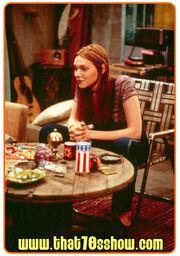 Donna in Erics basement