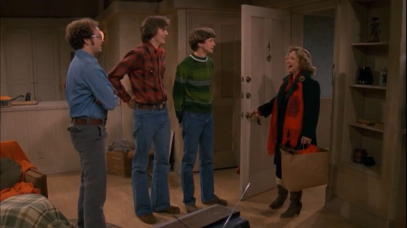 Image result for THAT 70S SHOW HYDES CHRISTMAS RAGER
