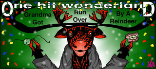 Grandma Got Run Over by a Reindeer by krin
