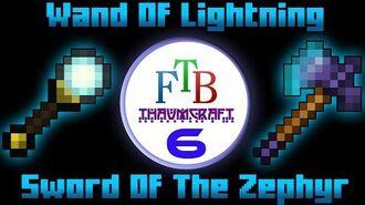 Wand Of Lightning Sword Of The Zephyr Thaumcraft 3 FTB LITE Deutsch Tutorial 6