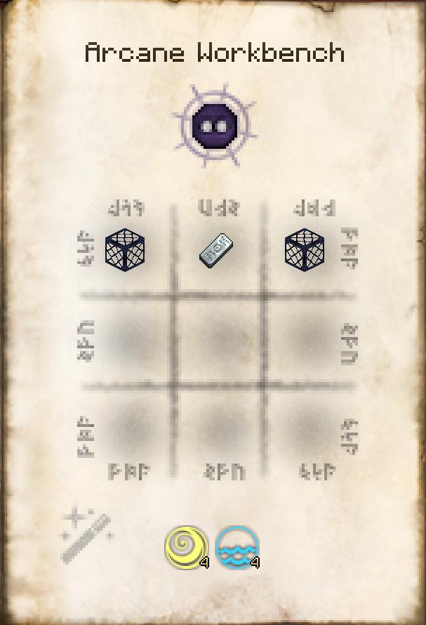 Таумкрафт 4 как создать алтарь