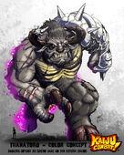 Kaiju combat thanatorg by kaijusamurai-d648l77