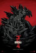 Pay homage to the King of Monsters with Mondo's Godzilla (2014) poster.