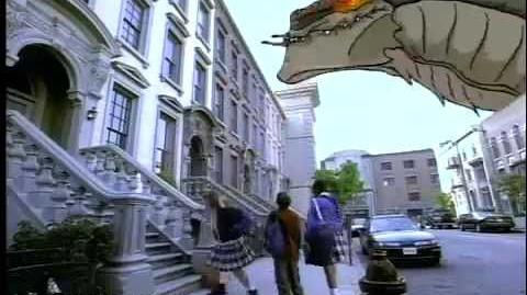 GODZILLA® The Series - 1998 FOX Kids Commercial