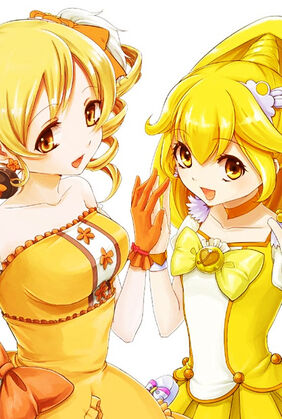 Cure Peace and Mami copy