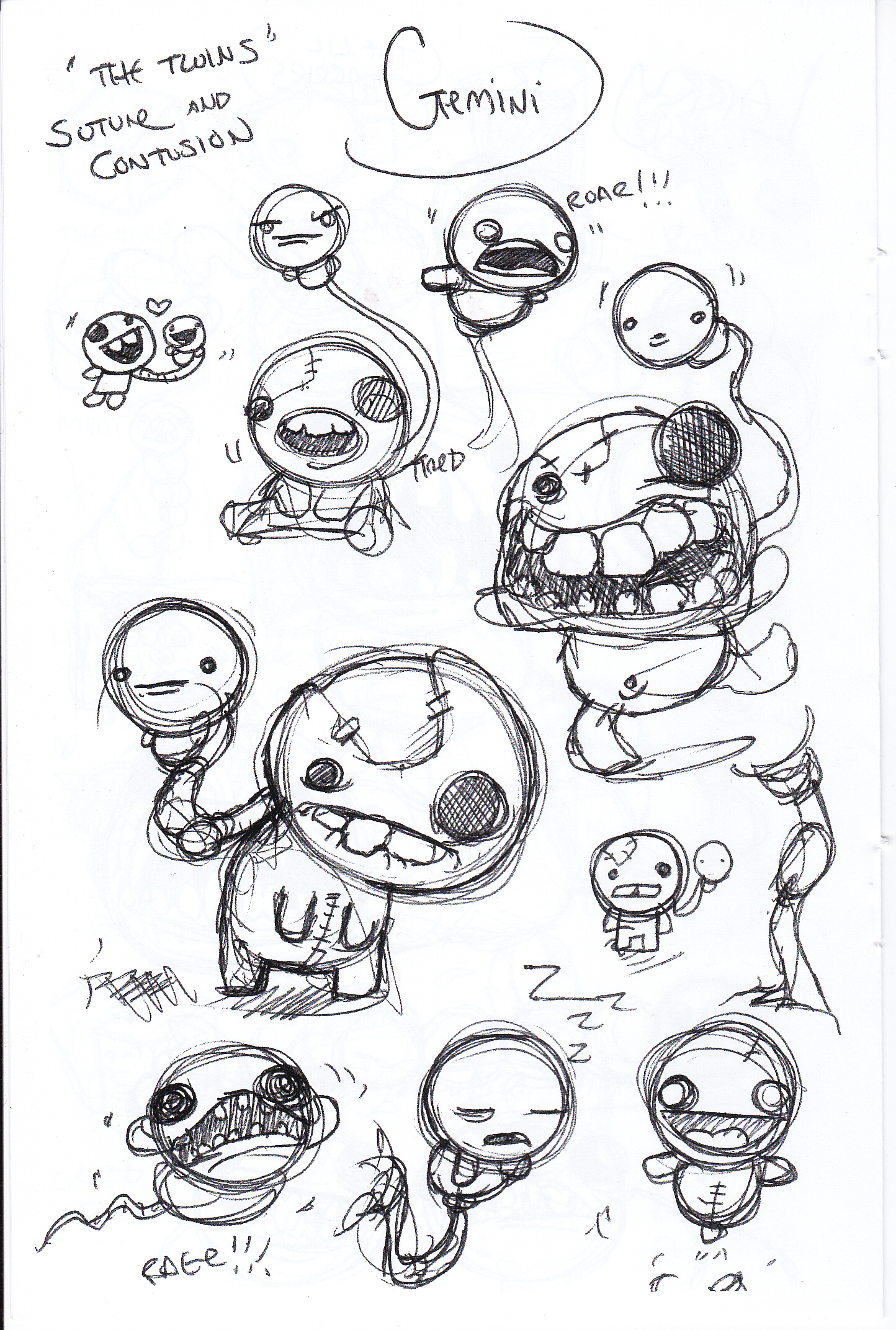 Gemini The Binding Of Isaac Rebirth Wiki Fandom