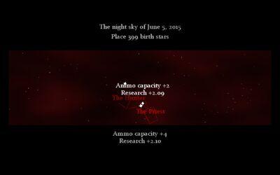 Placing stars