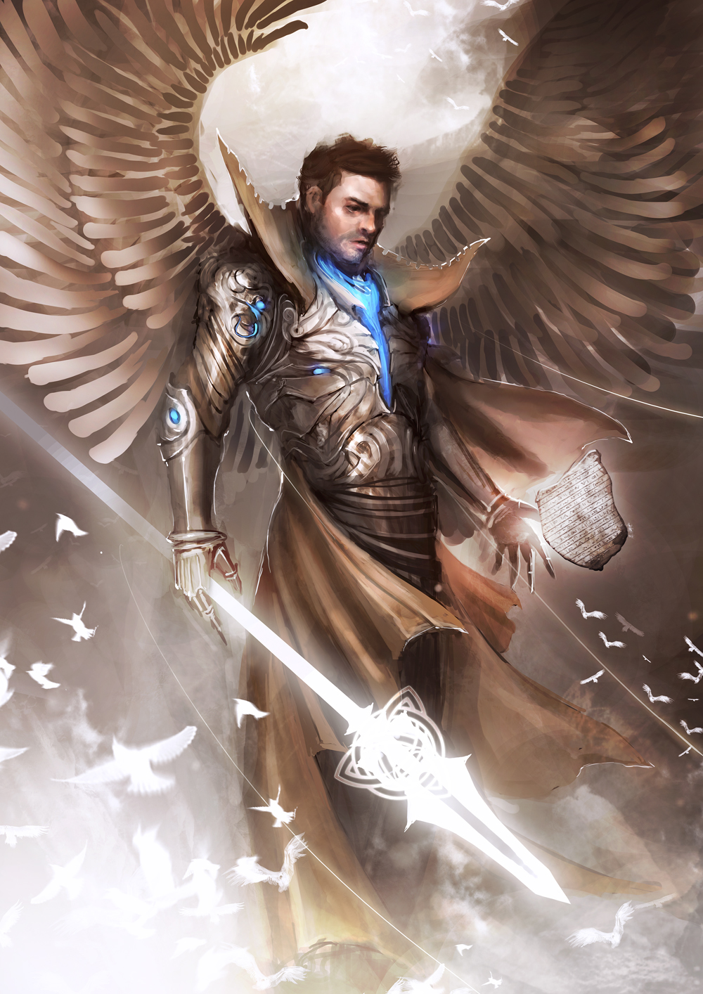 Image result for archangel camael fantasy